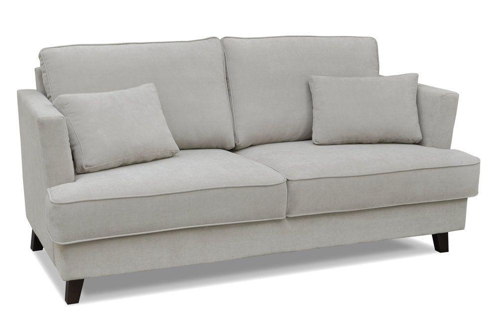 Canapé 2 places en tissu avec pieds en bois NARVIK