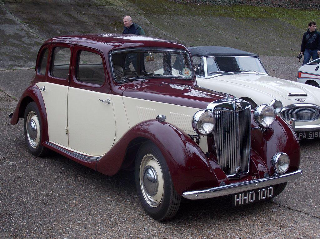 1949 M G Y Type Classic European Cars Antique Cars Retro Cars