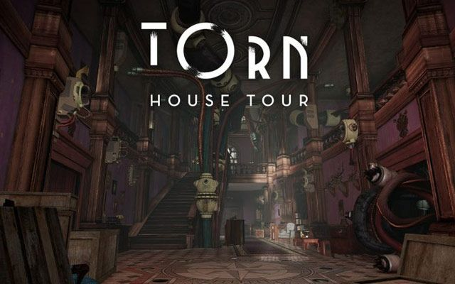 PlayStation VR brings 360 degree Torn house tour this