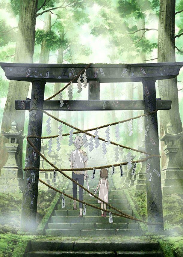 Hotarubi no Mori e (Movie) Hotaru and Gin Anime films
