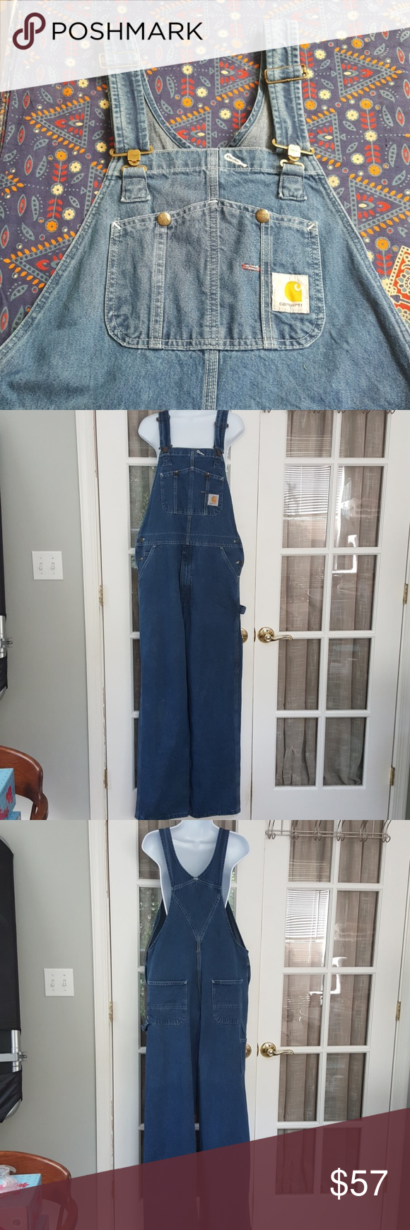 Carhartt Women's Denim Bib Overalls Carhartt Women's Denim Bib Overalls   Women's size 38 x 32 Perfect for chores or working around the house, going to a concert, shopping, whatever! Many assorted pockets, even a hammer loop! Carhartt Jeans Overalls #carharttwomen Carhartt Women's Denim Bib Overalls Carhartt Women's Denim Bib Overalls   Women's size 38 x 32 Perfect for chores or working around the house, going to a concert, shopping, whatever! Many assorted pockets, even a hammer loop! Carhartt #carharttwomen