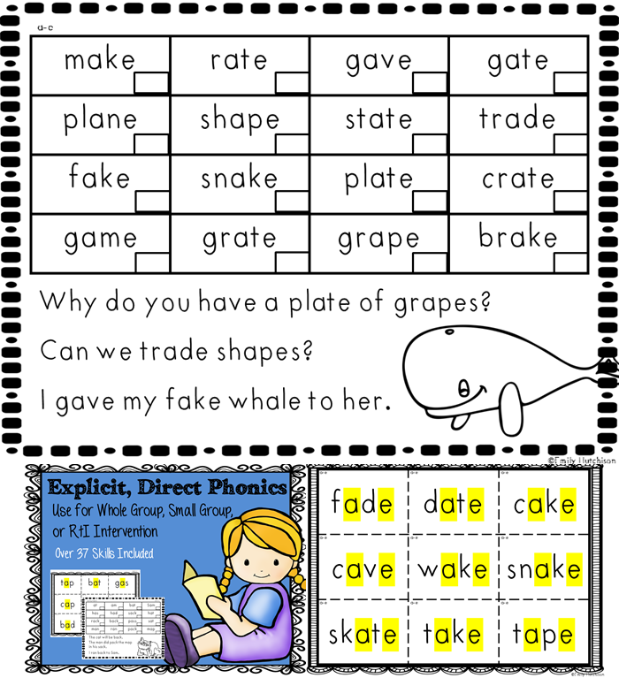 Explicit And Direct Phonics Instruction Can Use In Small Group Or