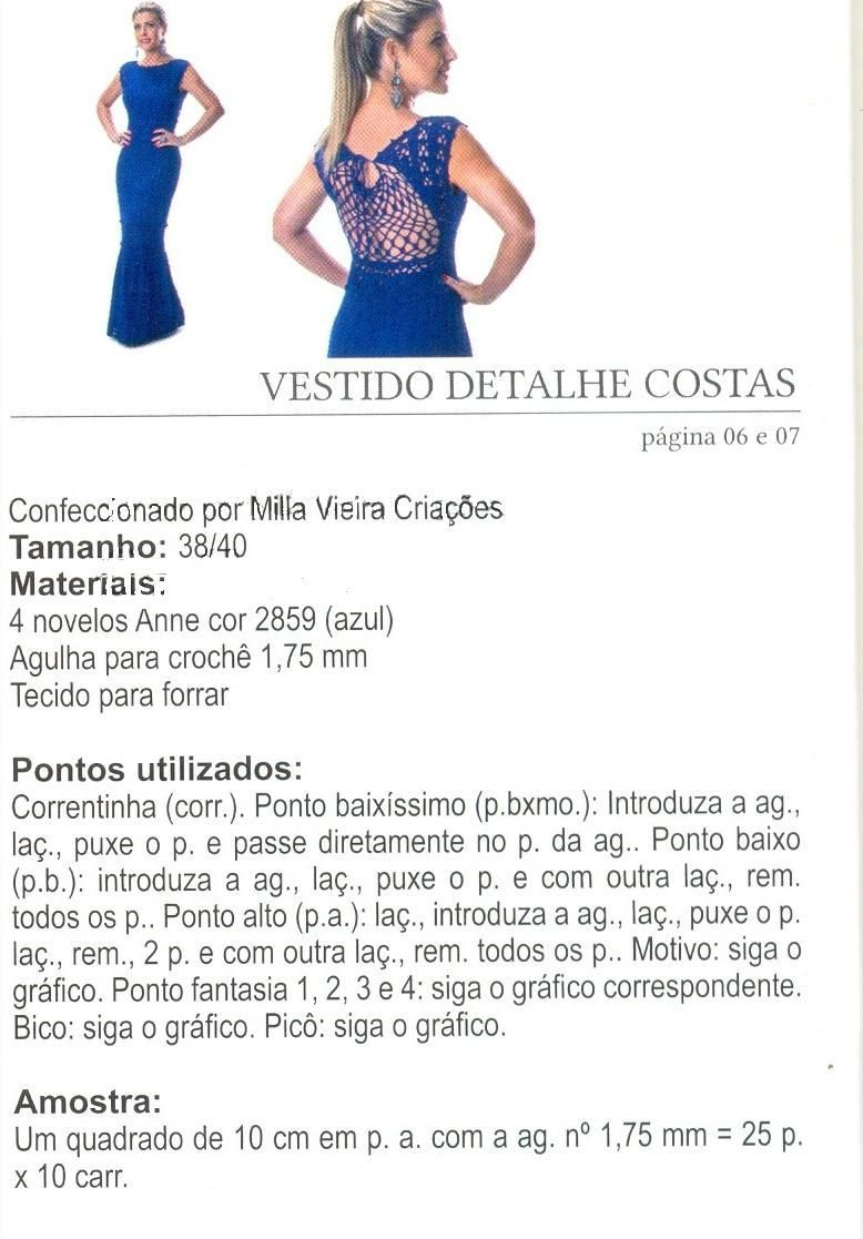 CROCHET DRESS. — Crochet by Yana | crochet y tela ideas | Pinterest ...
