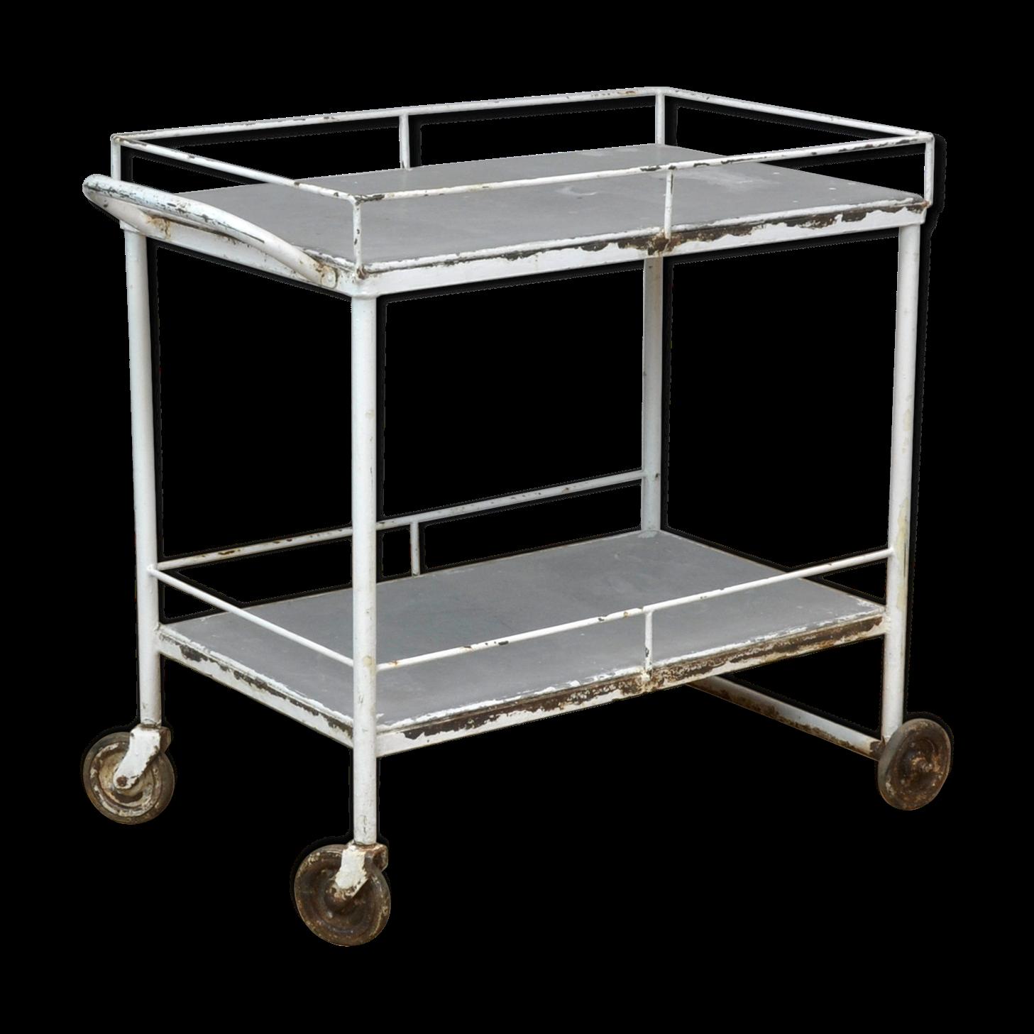 Feuille De Zinc Pour Cuisine medical trolley, 1950's | feuille de zinc, brocante en ligne