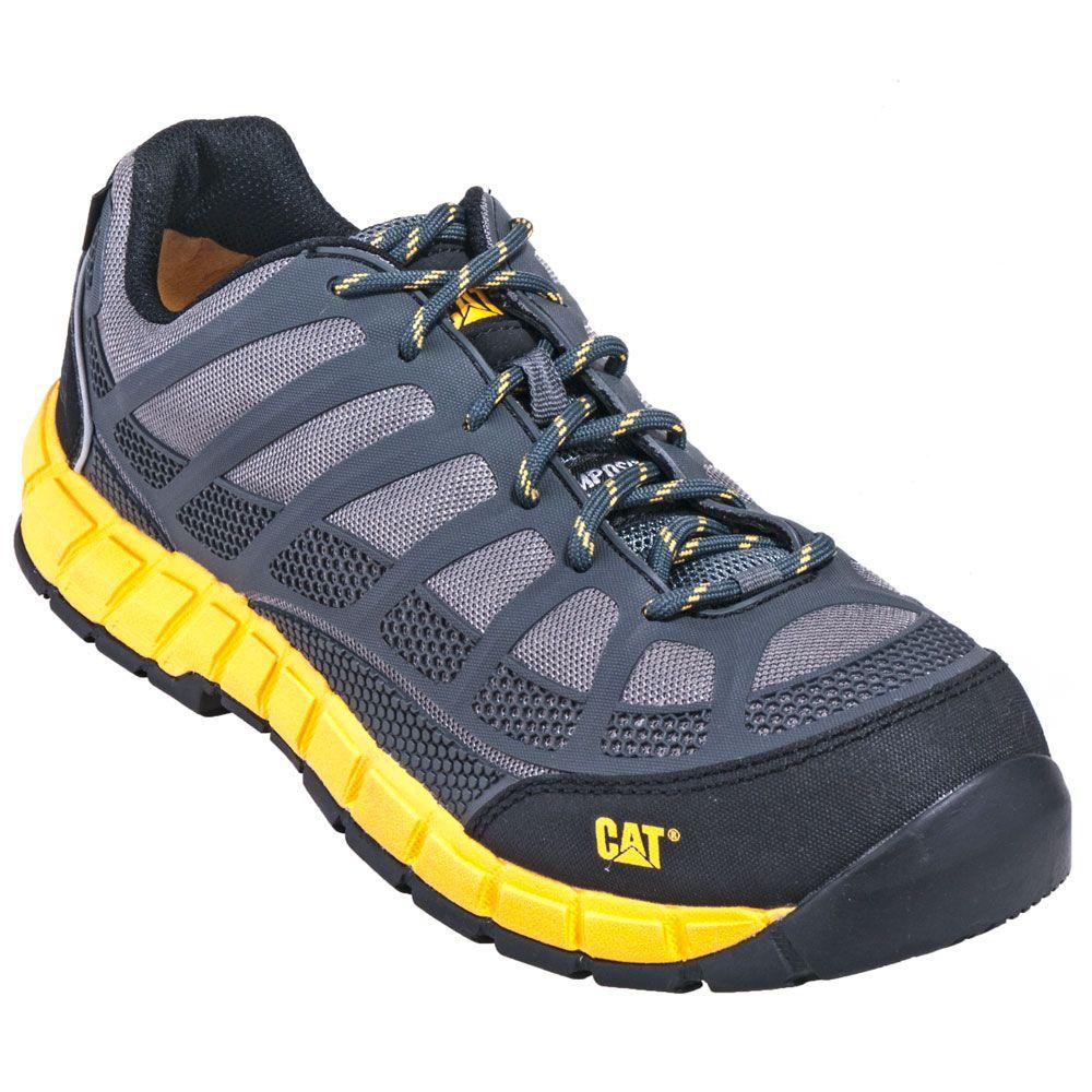 070cb685b02 Caterpillar Shoes  Men s 90594 Grey Composite Toe Streamline ESD ...