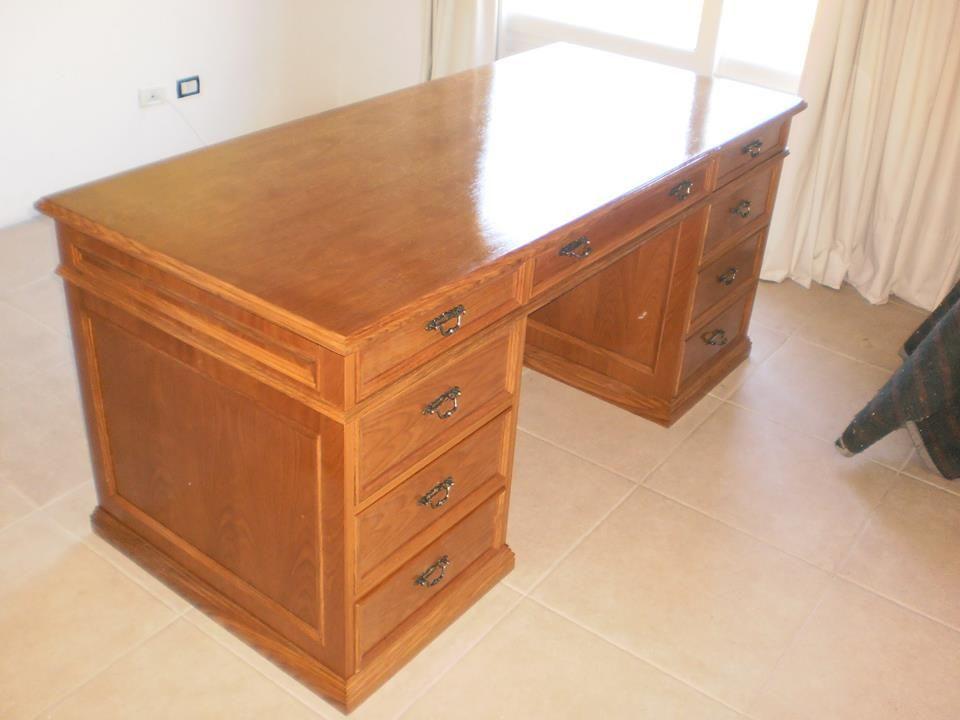 Escritorio en roble Aprigliano Muebles | muebles de estilo y ...