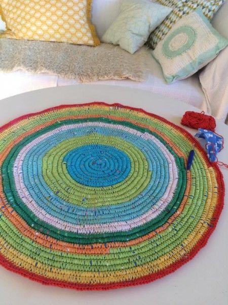 Großprojekt Teppich Häkeln Diy Pinterest Teppich Häkeln
