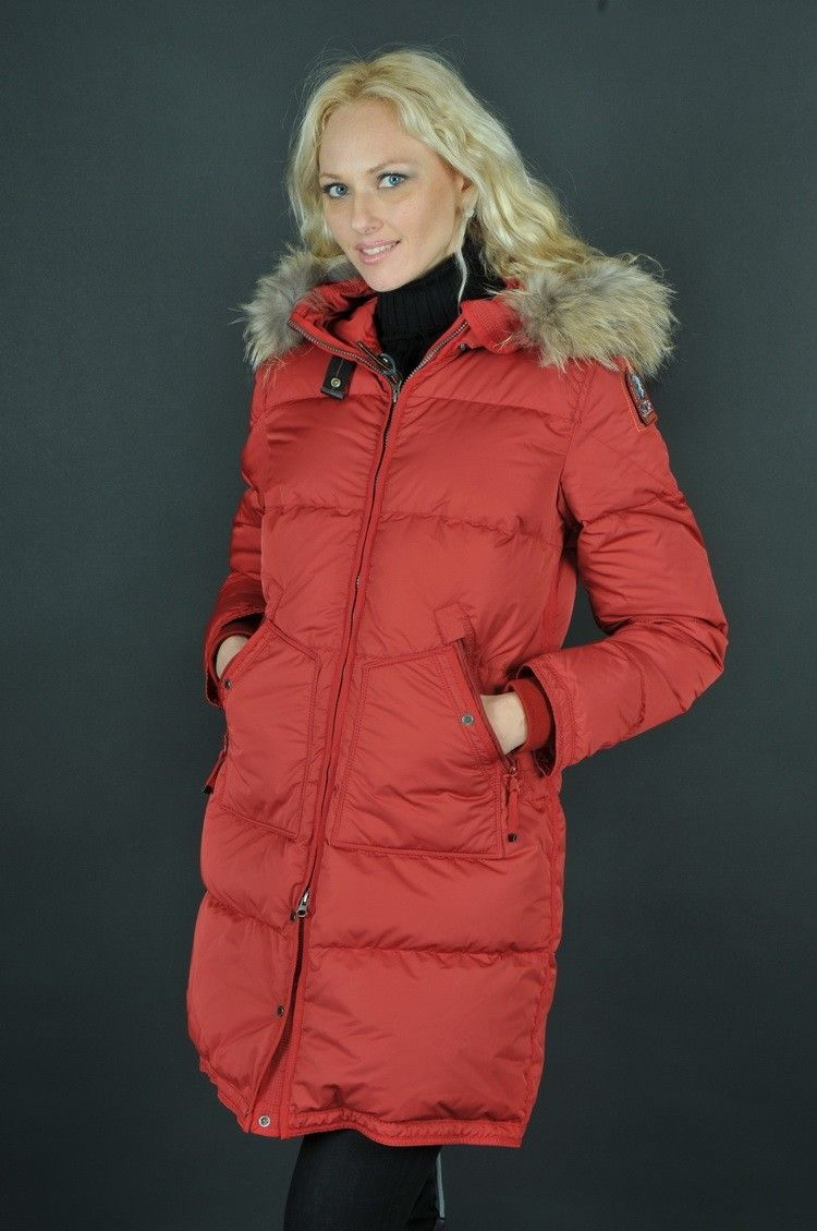 Parajumpers Light Long Bear Jacket Red Women