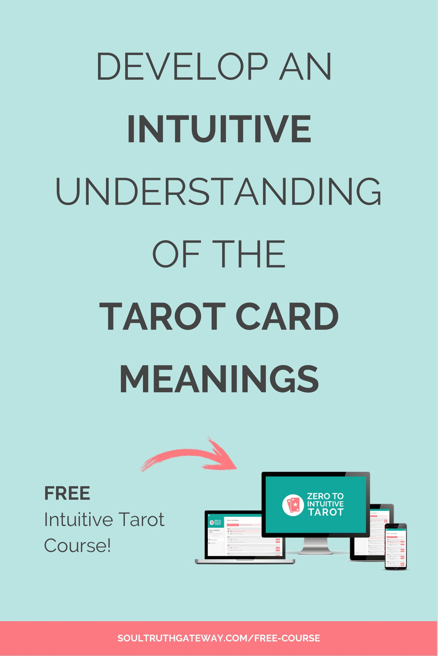 Free intuitive tarot course tarot learning how to