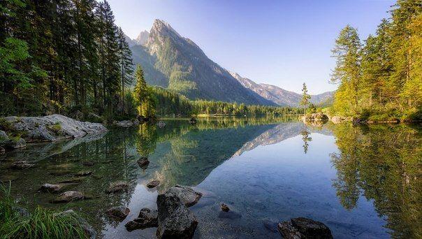 Красивые пейзажи Баварии