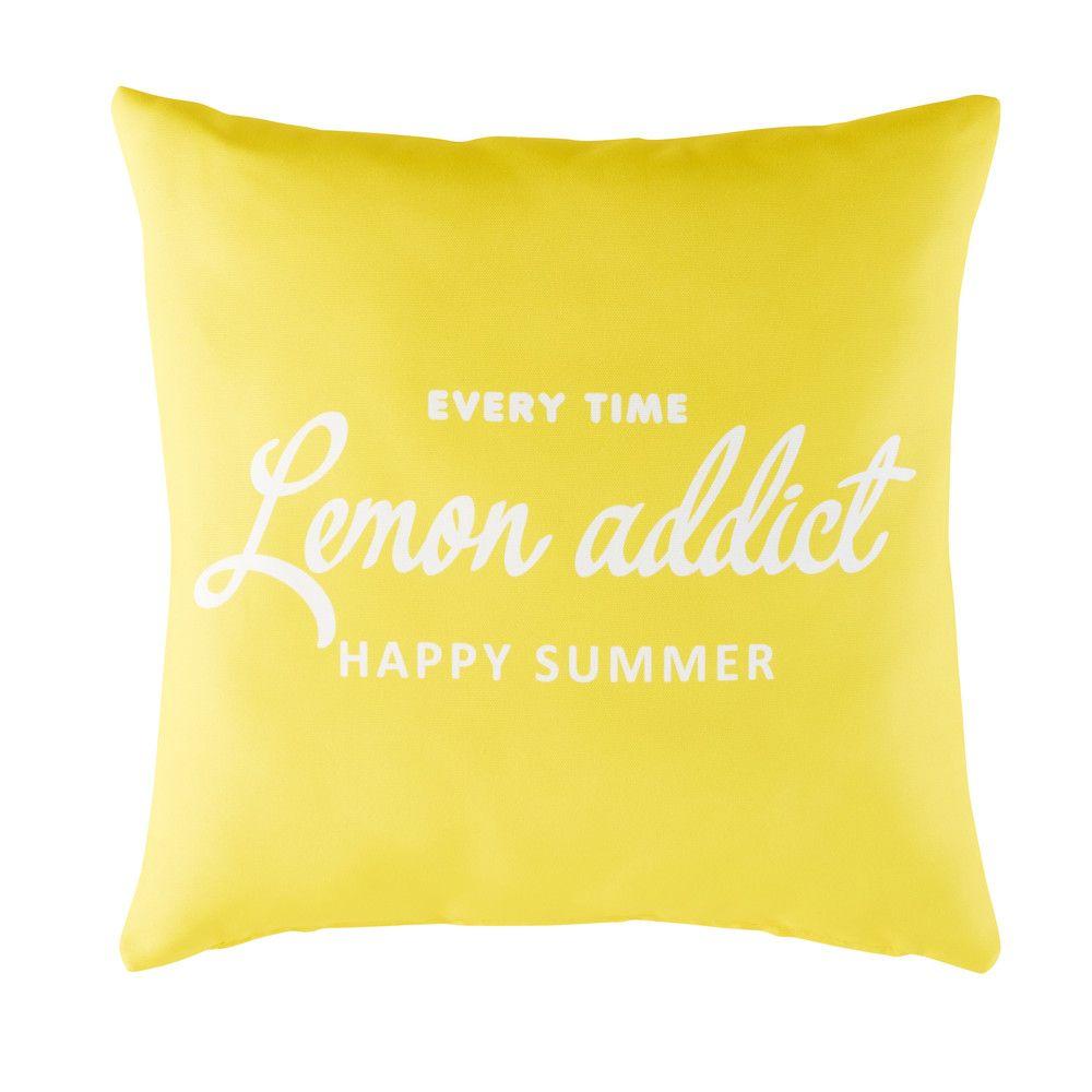 Decoration De Jardin Outdoor Cushions Happy Summer Cushions