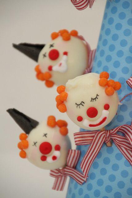 #Clown #Cakepops #Carnevale