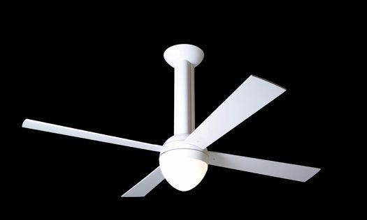 シーリングファン Modern Fan ストラータス オプションライト取付時 Mf550ホワイト モダン デザイン ファン