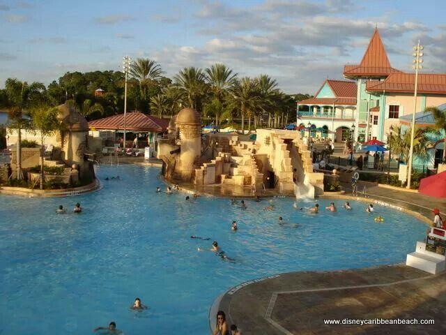 Walt Disney World S Caribbean Beach Resort