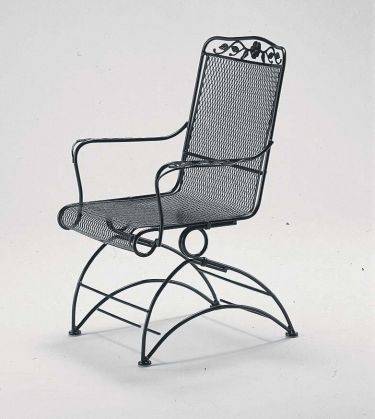 Windflower Mesh High Back Coil Spring Chair