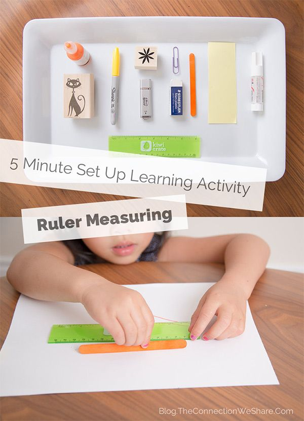 Easy Educational Ruler Activity She Amy Math For Kids Measurement Activities Preschool Activities Measurements activities for preschoolers