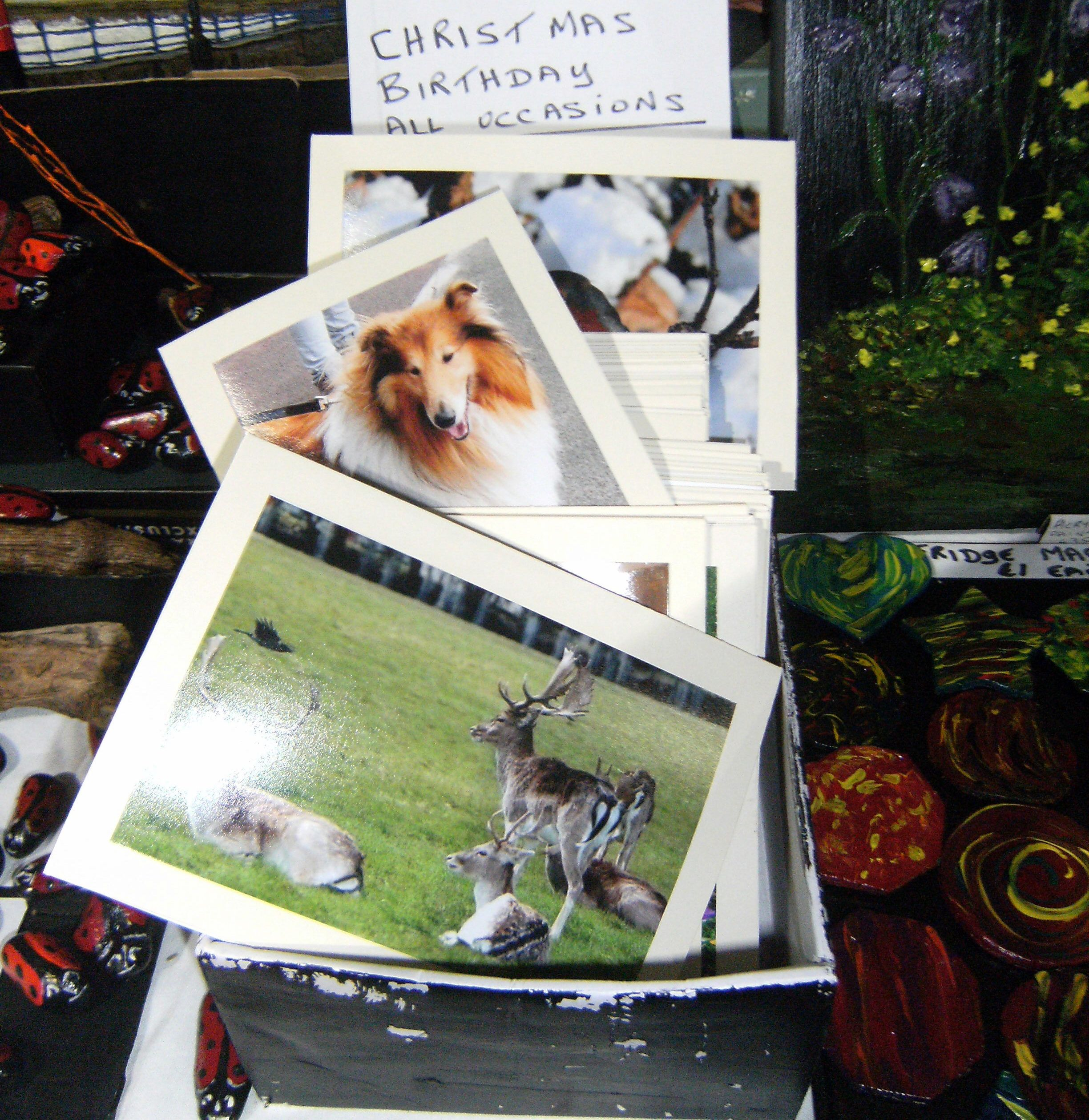 How To Sell Crafts at Shows Fairs: Earn Money with a Home Business http://viking305.hubpages.com/hub/How-to-make-greeting-cards-sell-at-craft-fairs-business-earn-money-card-birthday-Christmas-market-research-crafts