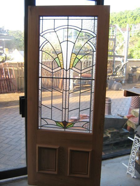 Art Deco Doors Art Deco Home Stained Glass Door Leaded Glass Door