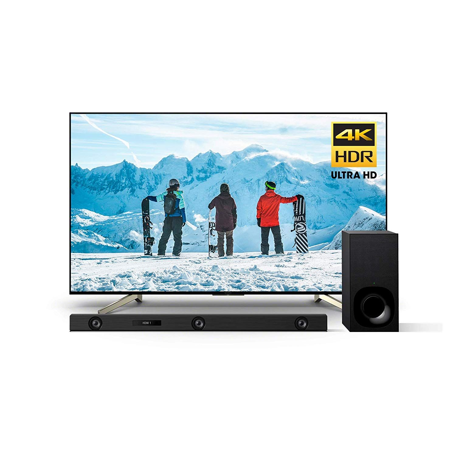 Sony Xbr65x850f 65 Inch 4k Ultra Hd Smart Led Tv And Z9f 3 1ch