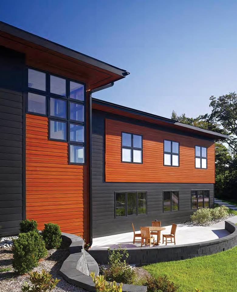 Modern Exterior Wood Siding: With World Renowned Expertise In The Science And