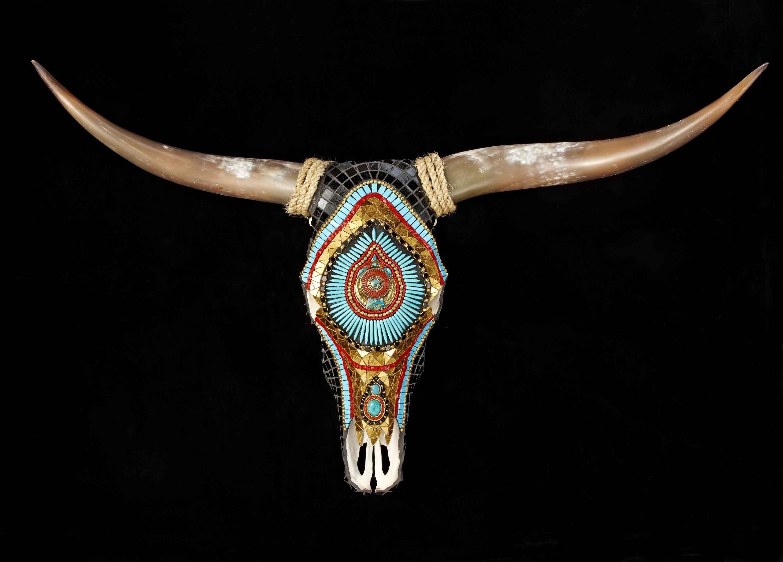 Cow Skull Vanitas The Hobo Society Cow Skulls