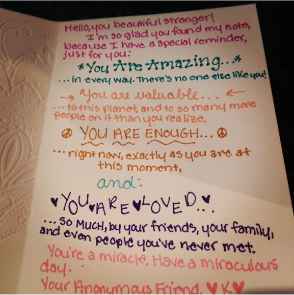 A Secret Admirer's Letter