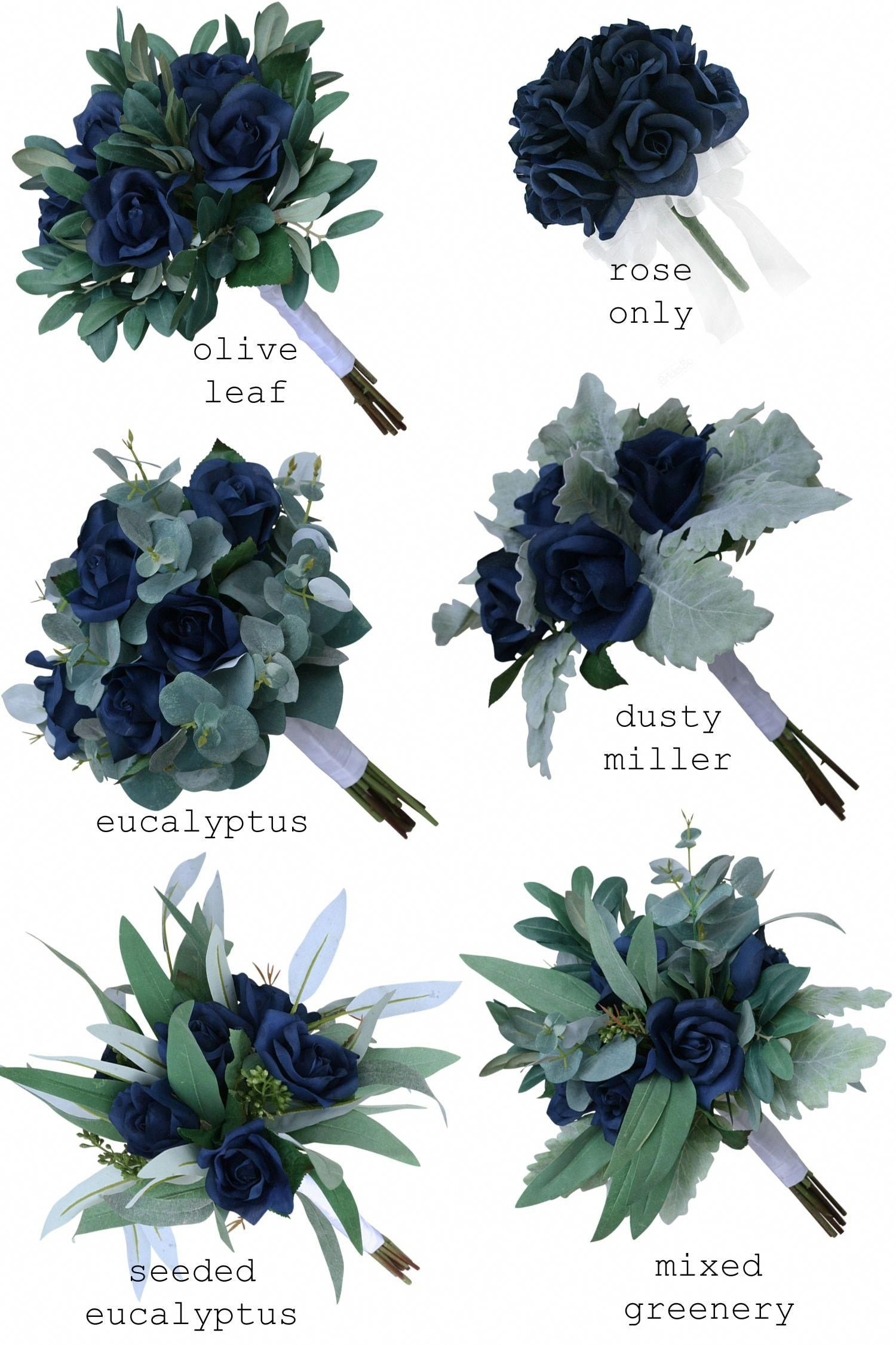 Navy Blue Rose Silk Wedding Bouquets Artificial Flowers Bridesmaid Bouquets One Dozen Roses In 2020 Bridesmaid Flowers Fall Wedding Flowers Artificial Flowers Wedding