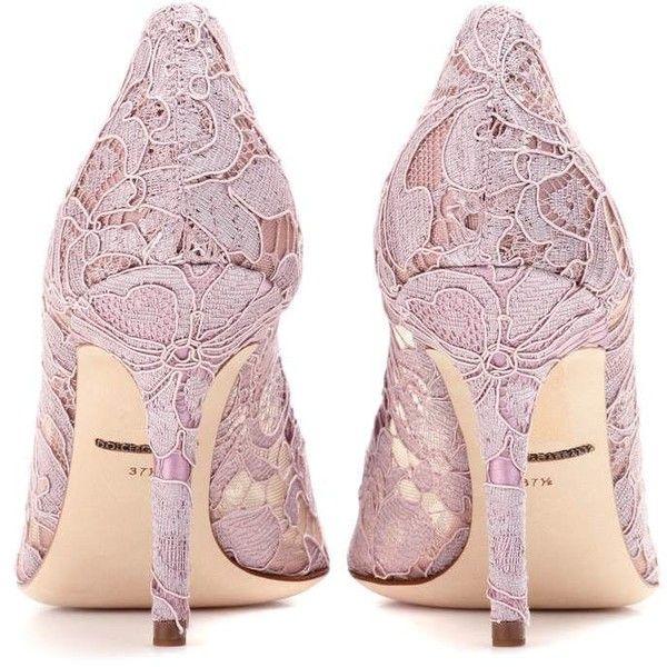 c8dbf8fcbb0 Dolce   Gabbana Bellucci Embellished Lace Pumps ( 1