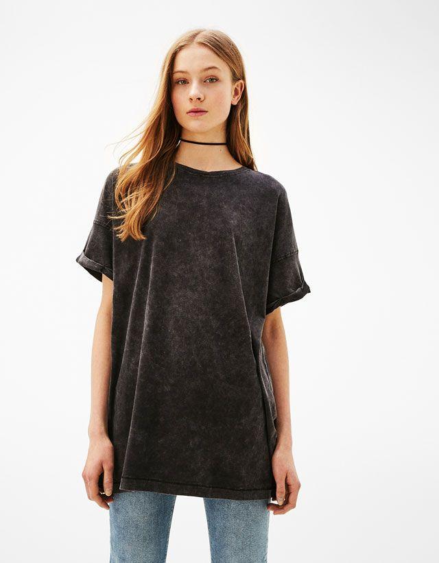 275381284 Camisetas de mujer - Primavera Verano 2017 | Bershka | Moda ...