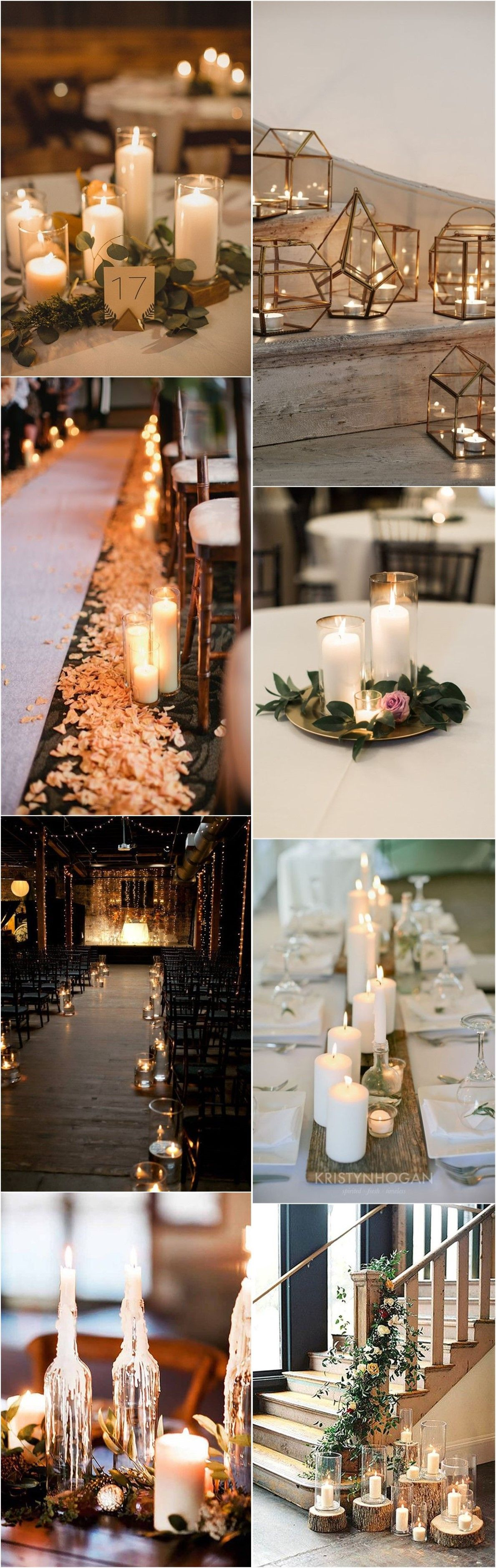 Love Wedding Decorations 20 Stuning Wedding Candlelight Decoration Ideas You Will Love