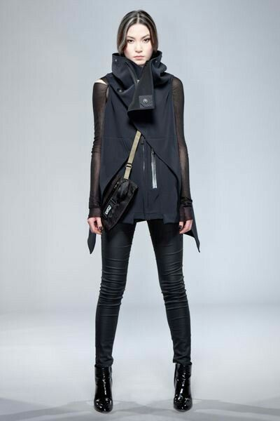 Futuristic clothing for women