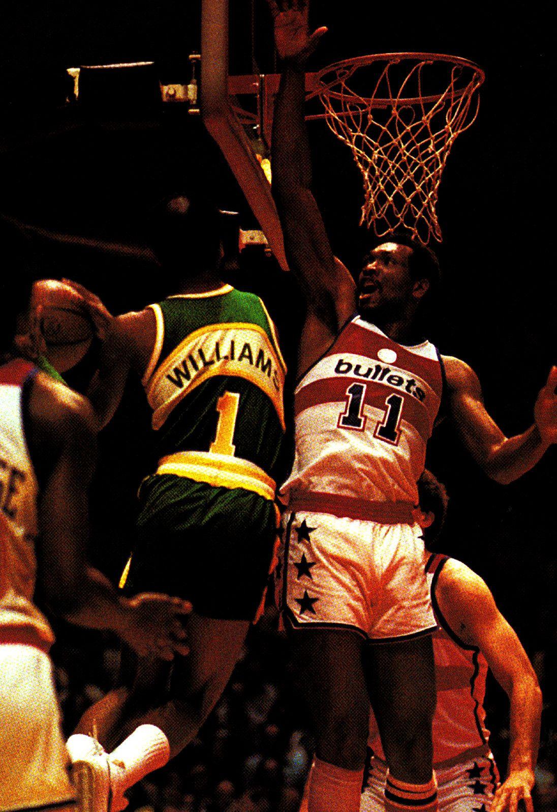 Gus Williams & Elvin Hayes Rare NBA s Pinterest