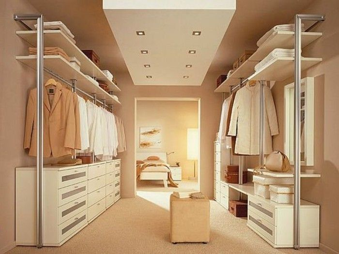 Begehbarer Kleiderschrank Selber Bauen Rosa Gold Mantel