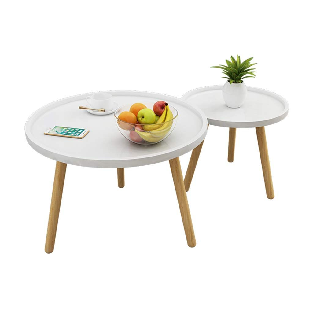 Home warehouse Combination Small Round Table, Creative ...