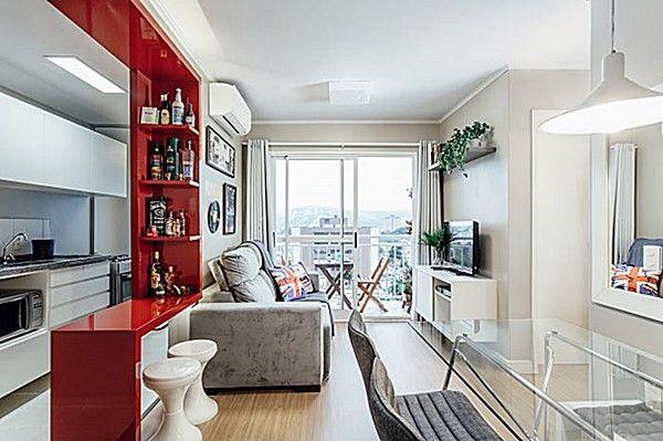2 apartamentos pequenos e lindos apartamentos peque os for Cocina apartamento pequeno