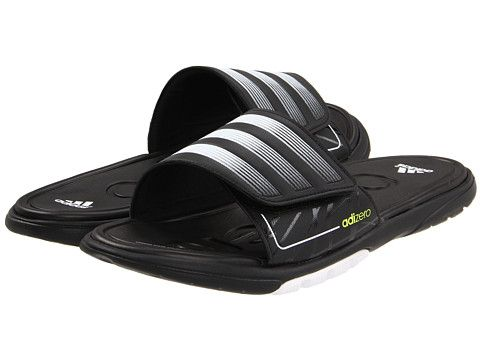 barca trasmissione Non farlo  adidas adizero™ Slide 2 SC Black/White/Metallic Silver - Zappos.com Free  Shipping BOTH Ways | Metallic silver, Silver shoes, Black