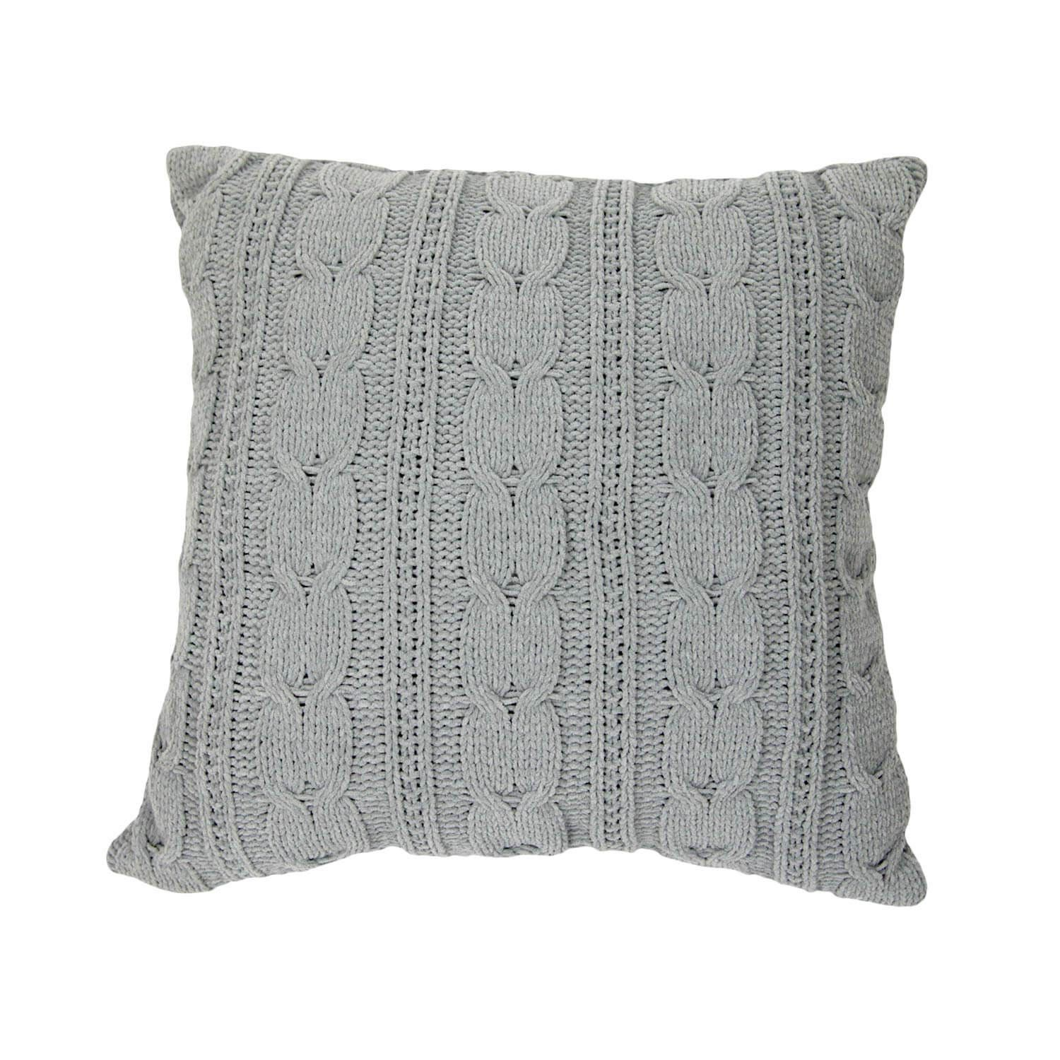 Knit Pillow, Sweater Pillow Y Big