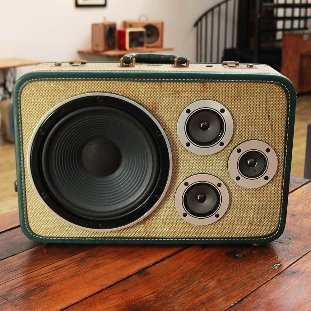 vintage speaker suitcase - Google Search | E & M | Pinterest ...