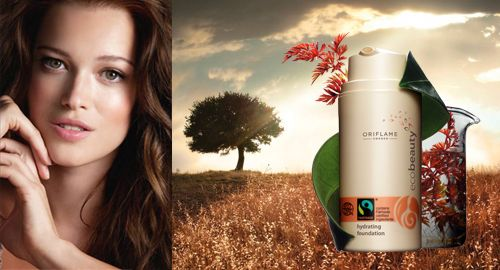 Maquillaje Hidratante Ecobeauty de Oriflame