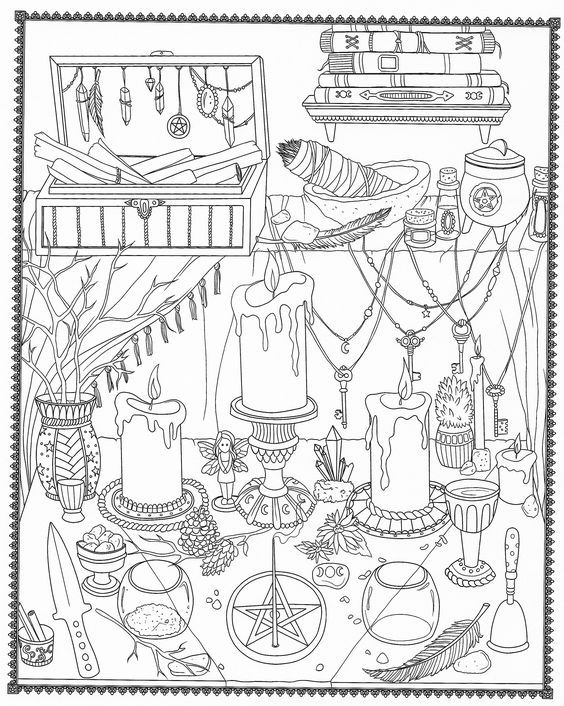 Pin By Mami On Coloring Divers Witch Coloring Pages Cool Coloring Pages Coloring Books