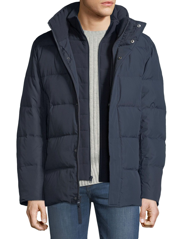 Marc New York Men S Carlton 5050 Hidden Hood Coat Marcnewyork Cloth [ 1500 x 1200 Pixel ]