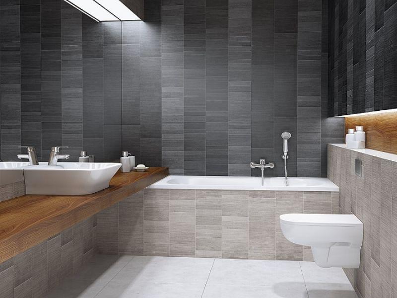 Pin By Mcgeorge Yuquico On Products In 2020 Bathroom Wall Cladding Modern Bathroom Wall Decor Bathroom Cladding