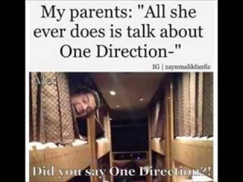 One Direction Funny Pictures - 2014 ♥ MY PARENTS FINALLY WANNA TALK ABOUT 1D?? #onedirection2014
