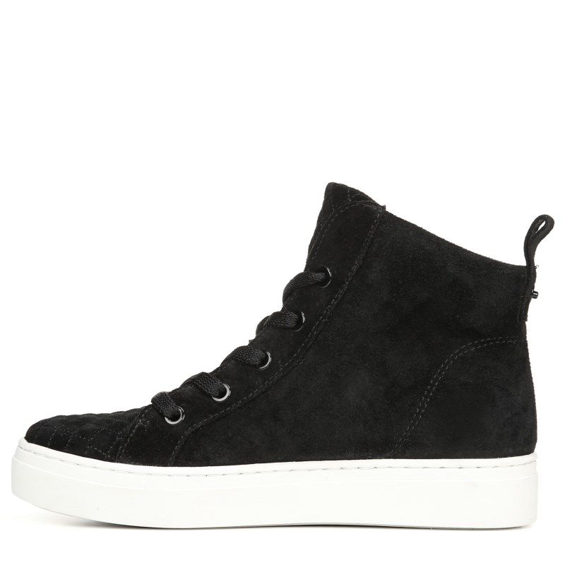 Top Sneakers (Black Leather