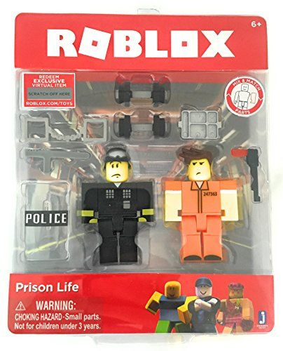 Roblox Game Pack Action Figure Prison Life Toys Game A Roblox Series 2 Prison Life Action Figure Set Prison Life Action Figures Prison