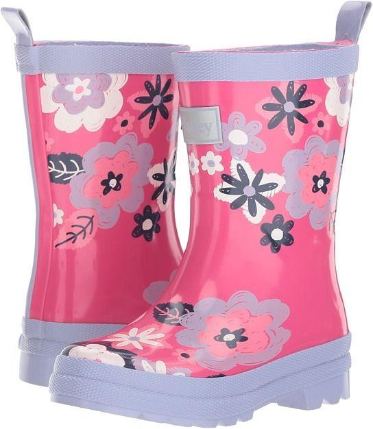 6b3d2cabe78e Hatley Kids - Sketchy Flowers Rain Boots Girls Shoes Affiliate Link ...