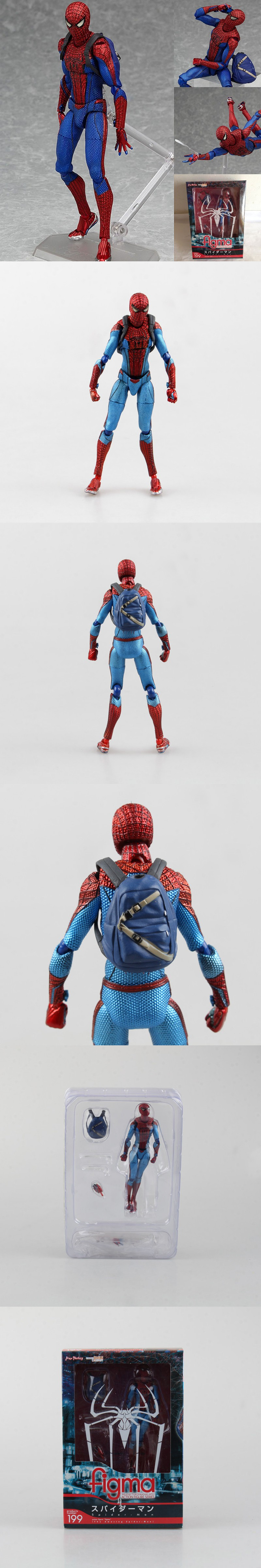 New Figma Spiderman Moveable Joints 15 cm