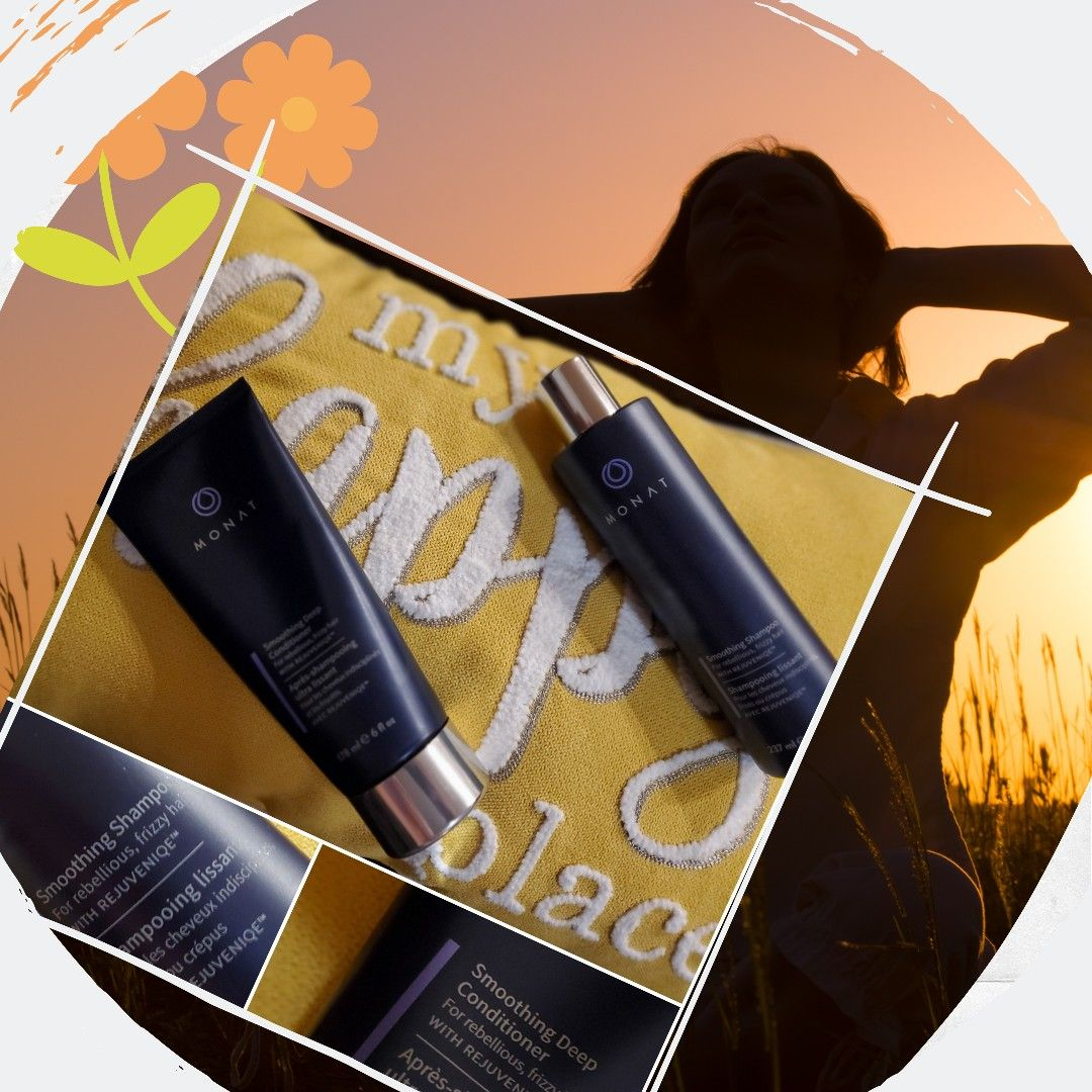 These are the 2 MONAT products that have STOPPED my HAIR L ...