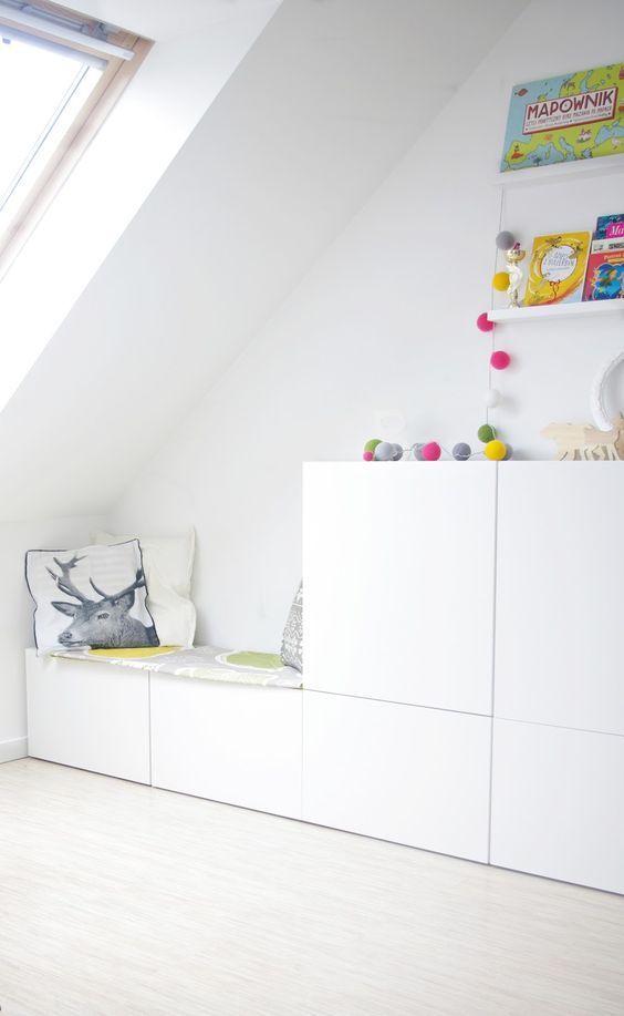 Rincones de lectura ideales #hogar #decoración #nórdico #infantil