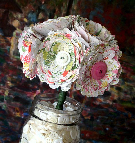Paper Flower Bouquet - Amerie
